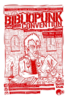 Bibliopunk Convention aka Kuching Zine Fest